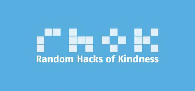 Random hacks of kindness