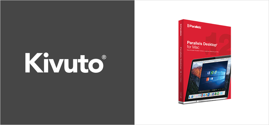Kivuto and Parallels Desktop 12 for Mac