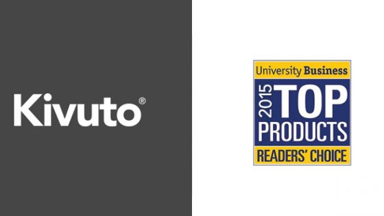Featured Image - Logo of Kivuto and University Business 205 Top Products Readers' Choice