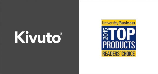 Kivuto and University Business 2015 Top Products Readers' Choice