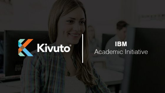 Featured Image - Kivuto logo and text IBM Academic Initiative