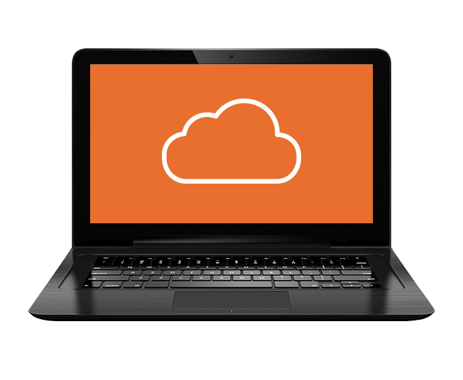 Laptop connect to the Cloud