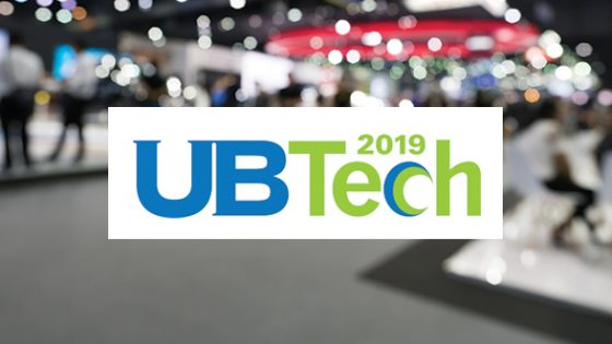 Logo UB Tech 2019, and Conference Background Image