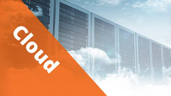 """Featured Image - Text """"Cloud"""" Database in the clouds"""