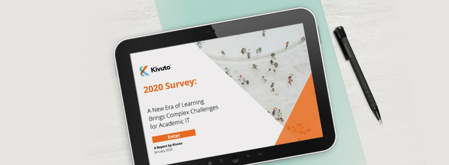 Featured Image - Tablet screen with the 2020 survey displayed inside
