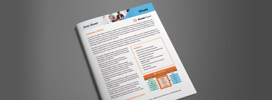Featured Image - Data sheet institution starter document photo