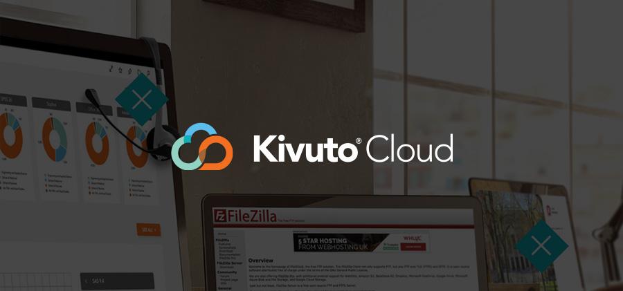 Featured Image - Kivuto Cloud Logo on Dark Background