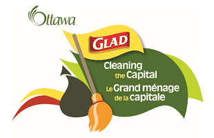 Logo - Ottawa and Glad Cleaning the Capital